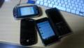 我が家のスマートフォンを一部紹介。auがないね。