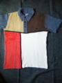 フェローズからバカパイルモンドリアン半袖ポロシャツが入荷です。