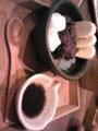 北斎茶房にて大納言あんみつ。 http://r.tabelog.com/tokyo/A1312/A131201/13009563/