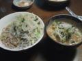 つけ麺野菜マシニンニクカラメ