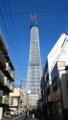この前現物してきた東京スカイツリー。これで半分ちょっとの高さです