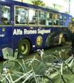 よーし!写ツというのをやってみよう!!アルファロメオ製バス…