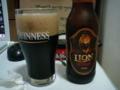 洋ものビールではライオンスタウト(スリランカ)が一番好きかも。アル