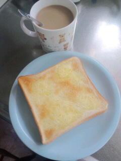 のんびり朝ごパン食べてたら、出遅れてしまった。