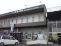 新居浜駅。ここで現地のお仲間KNさんと合流。