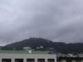 雨も上がり、雲に覆われていた稲佐山の電波塔も顔を出して来ました。