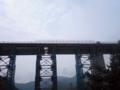 餘部鉄橋なう。
