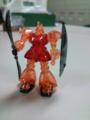 @HISASHI_ 結局・・・仕事中に『MS-14S GELGOOG』を作ってしまった・・・( ̄
