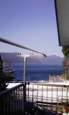 フッジサーン と芦ノ湖