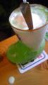 奉仕の後、喫茶店に来ました。