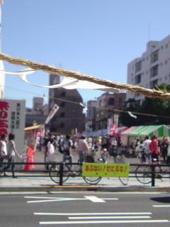八日町、縁日! #hachioji #八王子