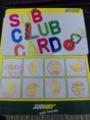 SUB CLUB CARD 早速利用してます。福岡国際センターの近くにサブウェイが