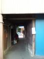 十条商店街、リトルコさんへの途中にあったトンネル。曙ハウス?を思