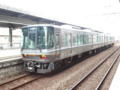 横川駅に、試運転電車とまってるー。かっちょいいぞ☆