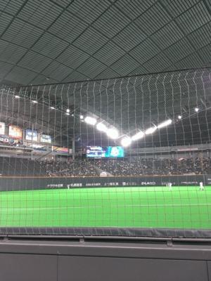 いよいよ札幌ドームもプロ野球開幕ですよ。入場したら本日のスタメン