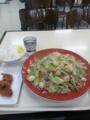 深夜に食べるには量がヘビーすぎた。大盛じゃないよ。下松SAのバリ太