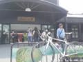 109kmの自転車ツーリングを終え、湯布院のひなびた大衆浴場に浸かり、