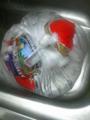 朝から冷蔵庫に移しておいたが、溶ける気配すらないので、パッケージ