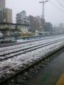 八王子駅なう。中央線若干遅れてます。