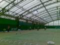 ともだちが 通うテニススクールで開催されたセレシュ参加のテニスク