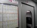 東京に向け疾走中。それにしても最近は乗客のPC使用率が高い。大スポ