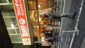 渋谷ウエンディーズなう。店の外まで行列が。マスコミ来るのも時間の