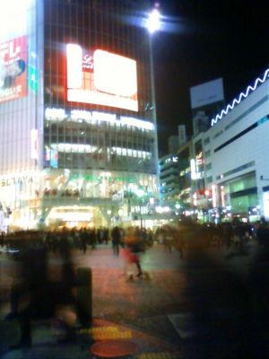 渋谷に到着。この時間はさすがに人が多いかな。デジハリのセミナーに