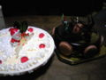 白がBLUESEALのアイスケーキ、黒が西荻窪アテスウェイ のチョコレート