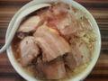 笑福 西中島南方 ラーメン650円 野菜ちょいましニンニクマシカラメ チ