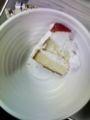 メリークリスマス。研究室でケーキ食べました