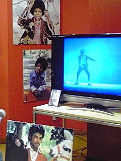 マイケルジャクソン追悼イベント(@広島シャレオ地下街)でカレンダーや