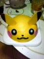 電気ネズミさんのケーキ(笑)