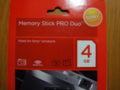 今日アキバで買った Sundisk のメモリースティックデュオの海外パッケ