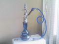 イスラエルでもらった水タバコの吸引道具