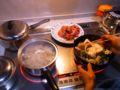 さて、すき焼き準備だ。 L:群馬県藤岡市  #nobu_gourmet
