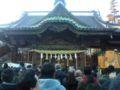 東松山のやきゅう神社ナウ。ここは野球のホームベースの絵馬やバット
