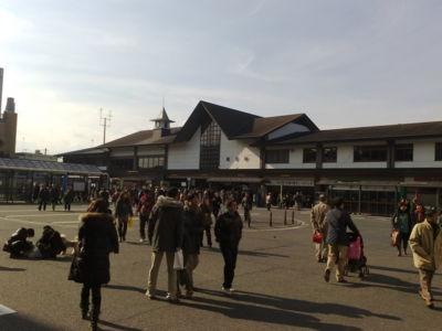 鎌倉駅なう