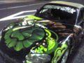 綺麗なローゼン痛車だったので一枚撮らせてもらっちゃいました。