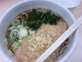 箱根そば本陣店にいる 朝そば 遠距離通勤だと自宅で朝御飯を食べて