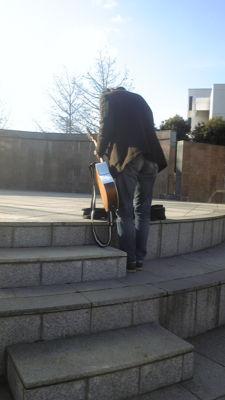 ステージにあらわれた木野さん  #ksl2010