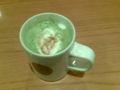 タリーズなう。ニューイヤー抹茶ラテがなかなか美味しい。今日もバイ