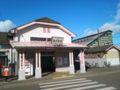 写真は那須町の中心地、黒田原の玄関口、JR黒田原駅です。あまりにも