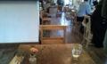 """ニコタマ""""MARKT cafe""""、アンティーク家具屋さんを併設してます。かわいい"""