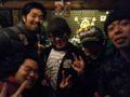 MONSTOCK A.P.の関係者パーティーにて、ザリガニワークス太郎さん、ハリ