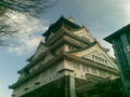 大阪城なう♪今日も天気がいい。