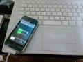 iPhoneを手に入れた。今までのauと二台使いで行きます。電話はau、メー