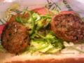 サブウェイにて初ベジバークなう。野菜はもちろん全部増し♪  #subwaypi