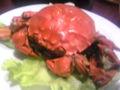 上海蟹は小さくて安くて食べやすいのだけど、美味い。コストパフォー