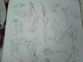 さぼりさぼりになってるせいか時間内に描けなくなってきてる。 #30drawi