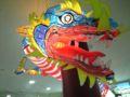 ランタンフェスティバル。旧暦の中国正月前の雰囲気が盛り上がってい